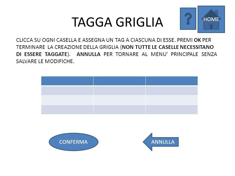 POSIZIONA COMPONENTI HOME INDIETROOK SCEGLI UN NUOVO OGGETTO DA INSERIRE (AUDIO, VIDEO, IMMAGINE, TESTO).