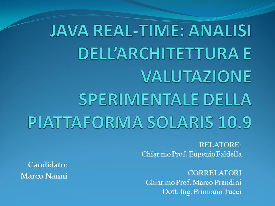 Candidato: Marco Nanni RELATORE: Chiar.mo Prof. Eugenio Faldella CORRELATORI Chiar.mo Prof. Marco Prandini Dott. Ing. Primiano Tucci