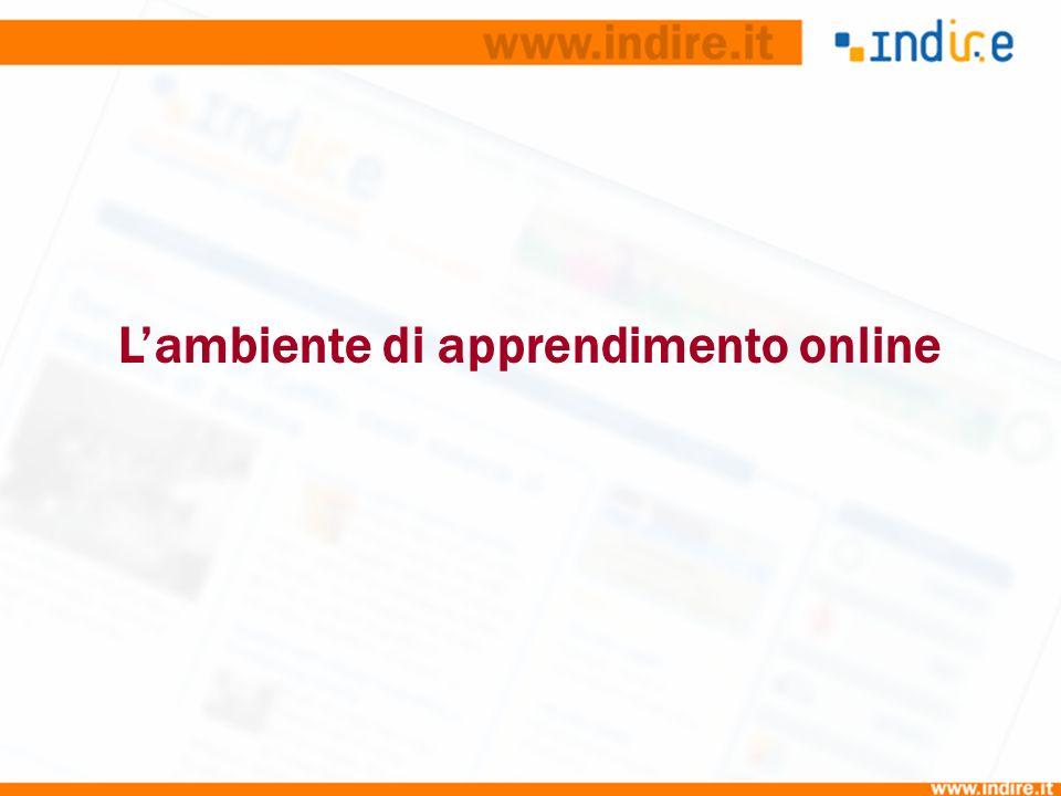 Lambiente di apprendimento online