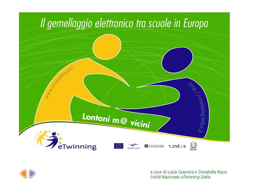 Azione eTwinning Lazione per il gemellaggio elettronico è stata lanciata dalla Commissione Europea nellambito del Programma pluriennale eLearning.