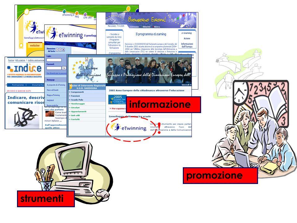 strumenti promozione informazione !
