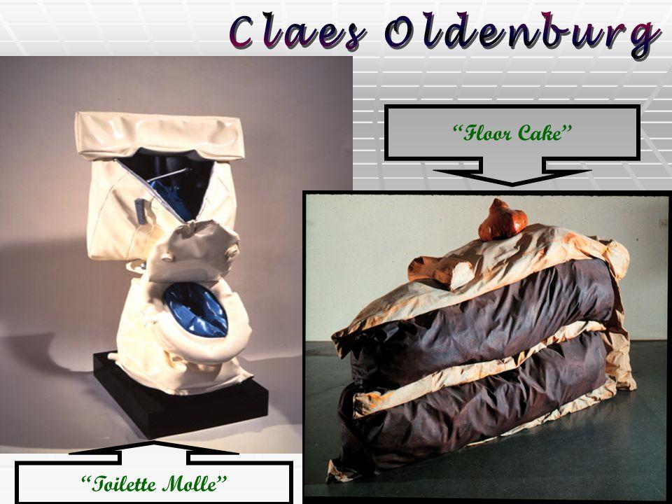 Toilette Molle Floor Cake