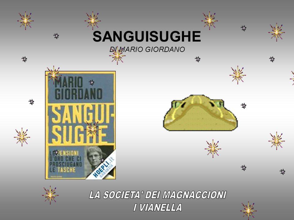 SANGUISUGHE DI MARIO GIORDANO