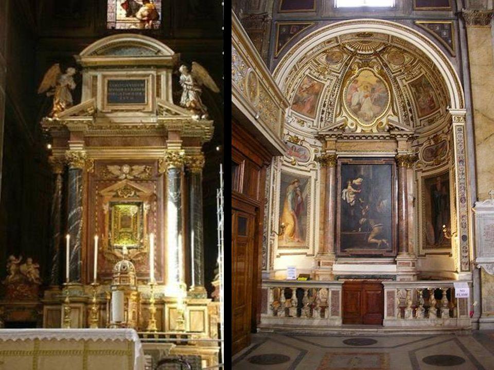 Sant'Agostino è una chiesa ubicata in prossimità di piazza Navona. È una delle prime chiese romane costruite durante il Rinascimento. La costruzione f