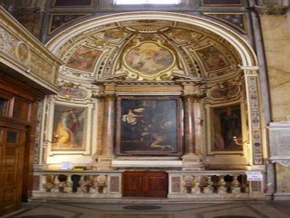 In questa chiesa, nella Cappella Cantarelli, sono esposti i celebri dipinti del Caravaggio: Vocazione di San Matteo - San Matteo e lAngelo