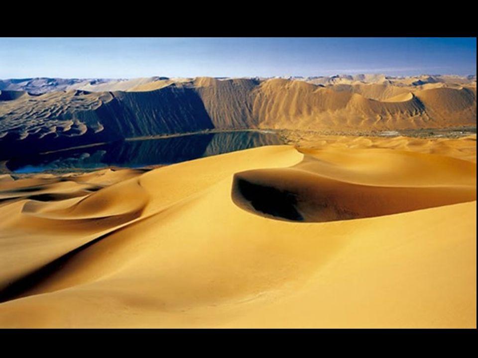 Dalla prospettiva attuale, è facile immaginare la difficoltà per capire che un paesaggio deserto, arido, senza piogge, e dominato da mega dune di sabb