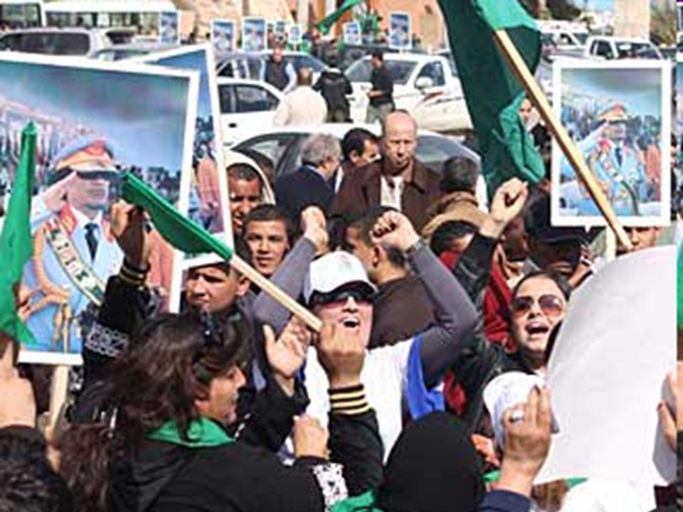 APPUNTI DI STORIA SETTEMBRE 1969: Re Idris fu deposto da un gruppo di ufficiali nasseriani. Il paese fu ribattezzato Repubblica araba di Libia. El Ghe