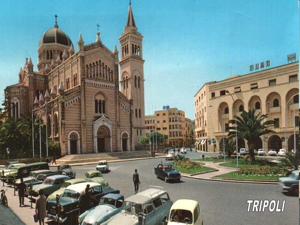 1970: I beni degli italo – libici furono confiscati, e gli stessi cittadini furono costretti a lasciare il Paese. La politica di sviluppo del territor
