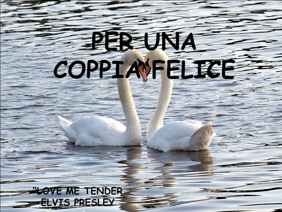 PER UNA COPPIA FELICE LOVE ME TENDER ELVIS PRESLEY
