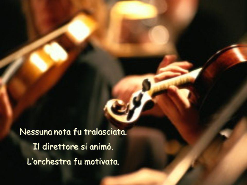 Una terza corda del violino di Paganini si ruppe. Il direttore si paralizzò.