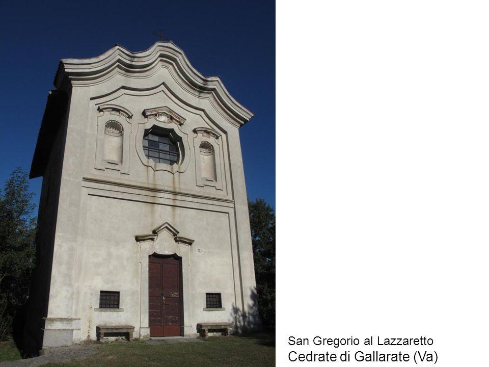 La chiesa del Lazzaretto Nel Catasto austriaco 1752