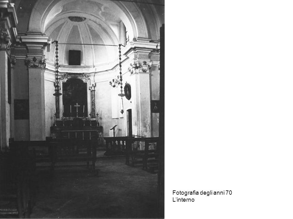 La chiesa del Lazzaretto oggi