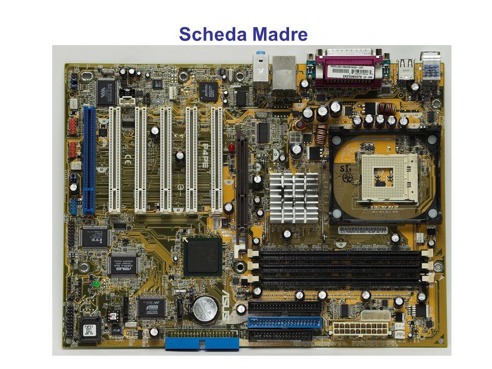 CPU - Central Processing Unit Il RISC (Reduced Instruction Set Computer, computer con un set d'istruzioni ridotto), contiene un numero molto inferiore