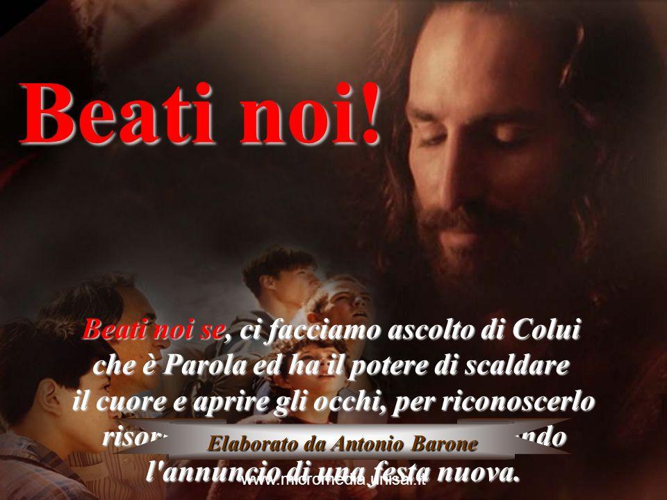 Beati noi se, avendo viva nella mente e nel cuore l'icona del Figlio di Dio in ginocchio davanti all'uomo, mentre lava i piedi ai discepoli, stiamo gl