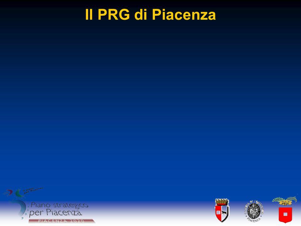 Il PRG di Piacenza