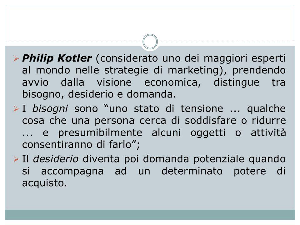 Philip Kotler (considerato uno dei maggiori esperti al mondo nelle strategie di marketing), prendendo avvio dalla visione economica, distingue tra bis