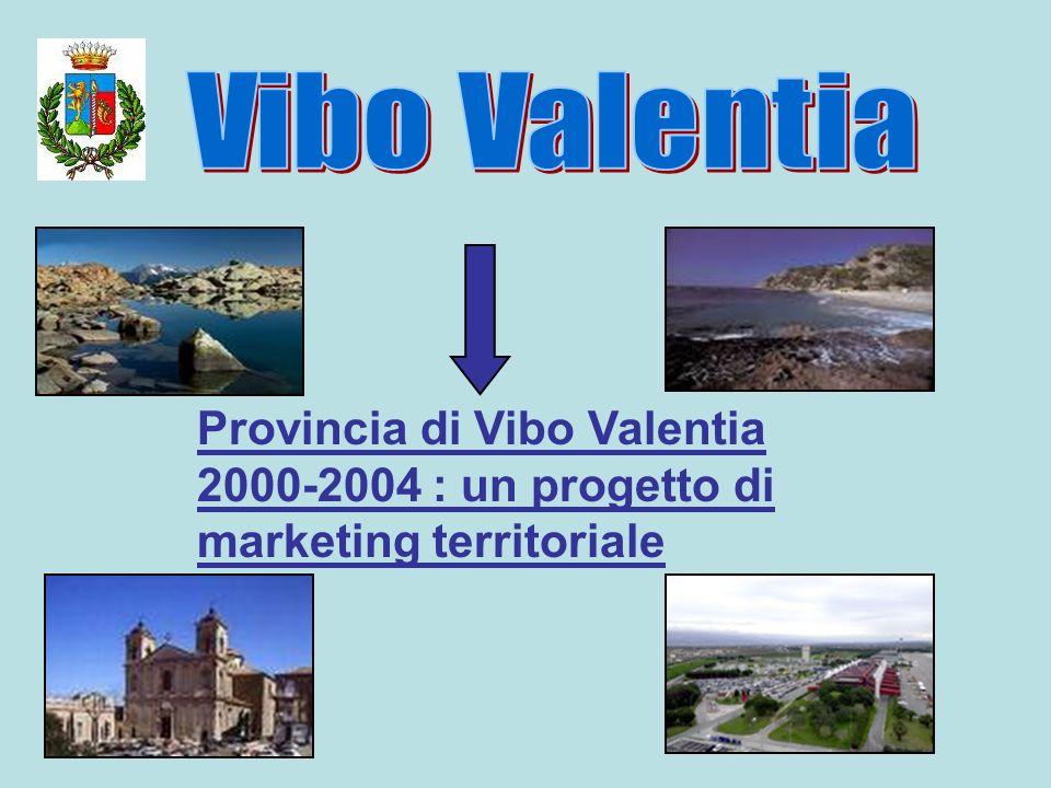 Provincia di Vibo Valentia 2000-2004 : un progetto di marketing territoriale