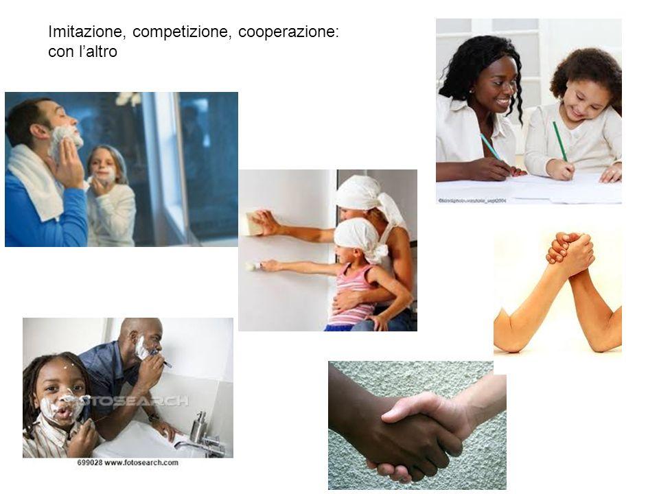 Imitazione, competizione, cooperazione: con laltro