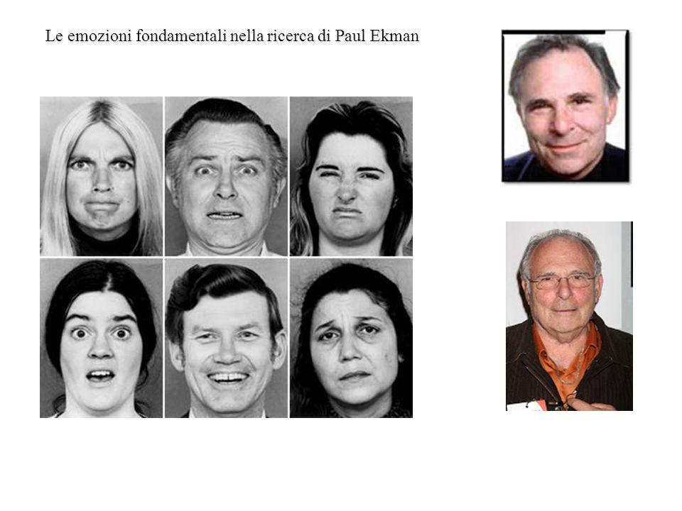 Le emozioni fondamentali nella ricerca di Paul Ekman