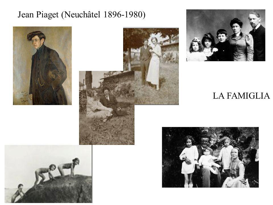 Jean Piaget (Neuchâtel 1896-1980) LA FAMIGLIA