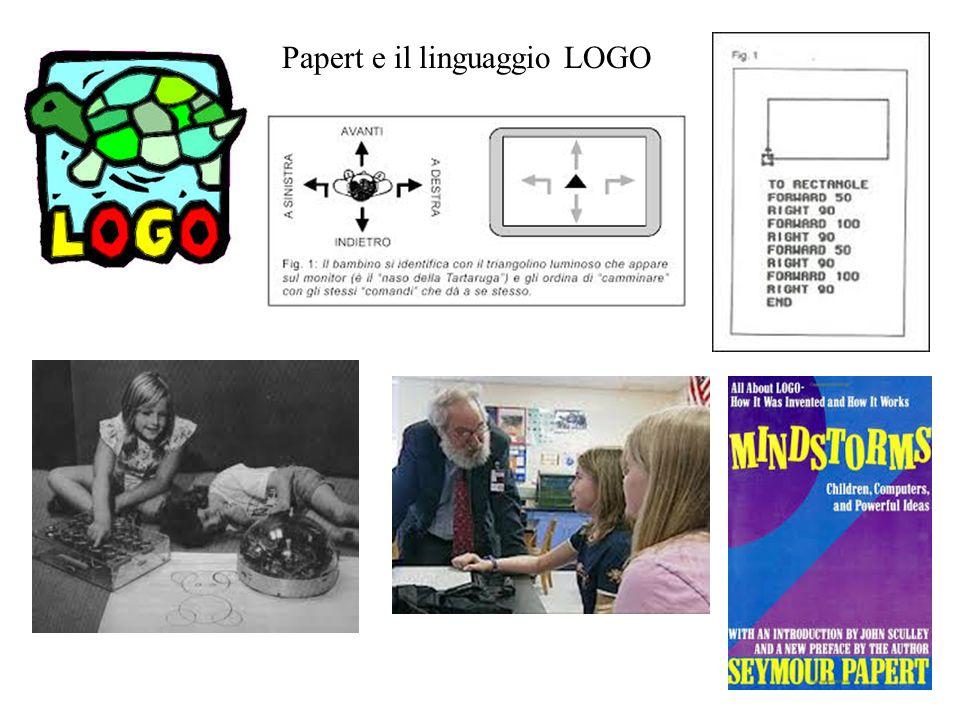 Papert e il linguaggio LOGO