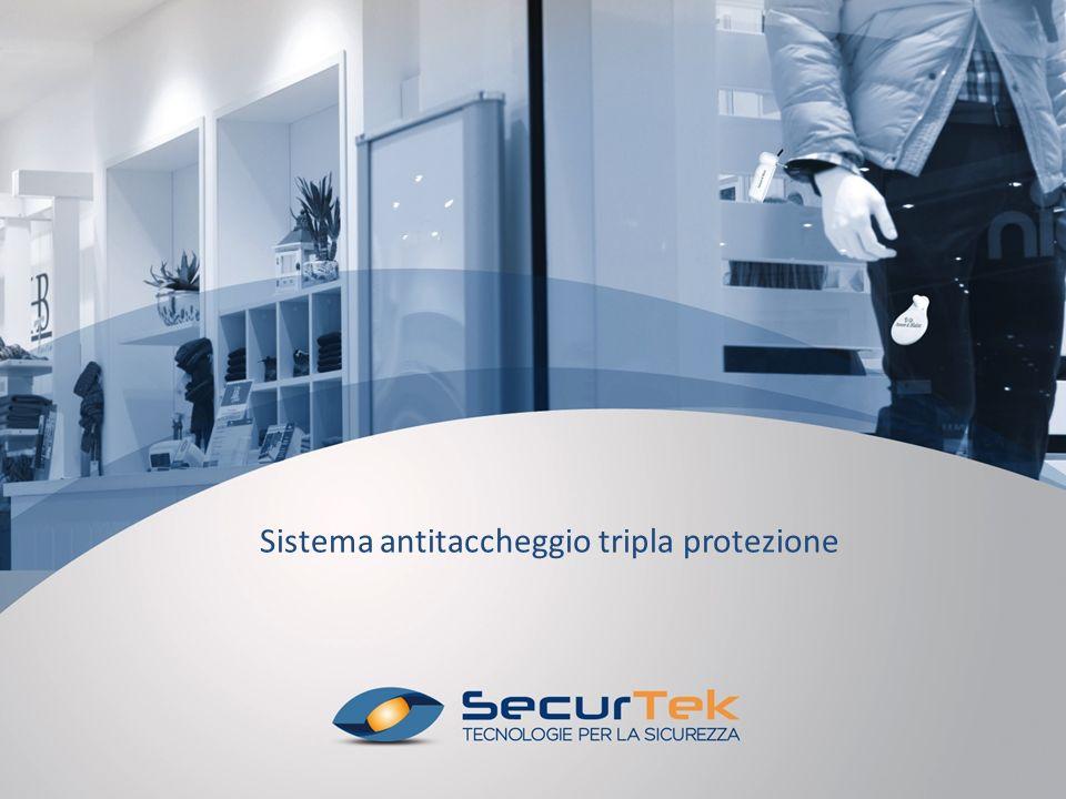 Sistema antitaccheggio tripla protezione / MISTO ULTRA S-MT DUAL 58KHz Sistema tripla protezione antitaccheggio MISTO ULTRA S-MT DUAL 58KHz