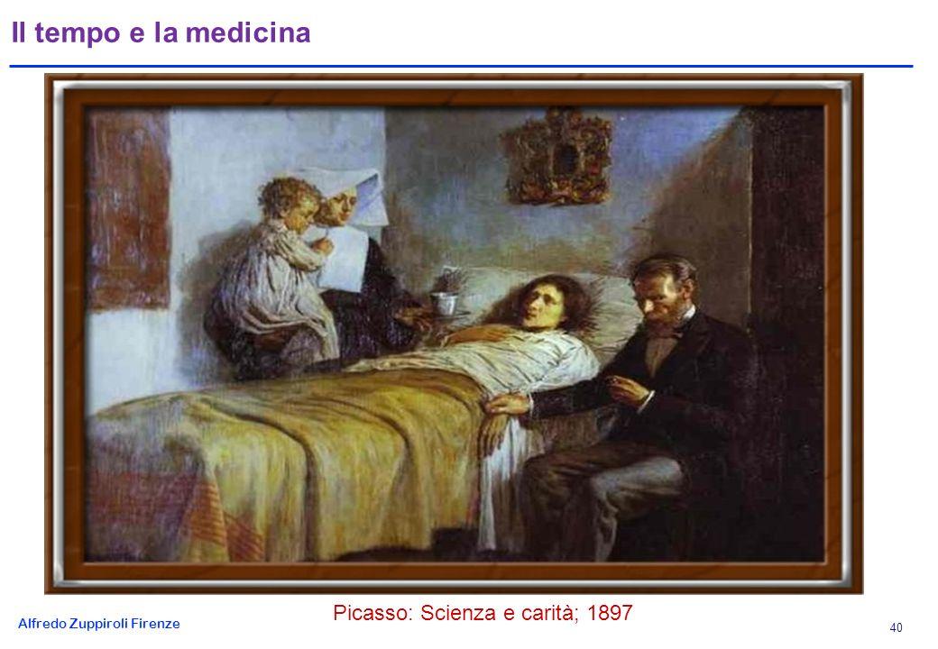 Alfredo Zuppiroli Firenze 40 Il tempo e la medicina Picasso: Scienza e carità; 1897