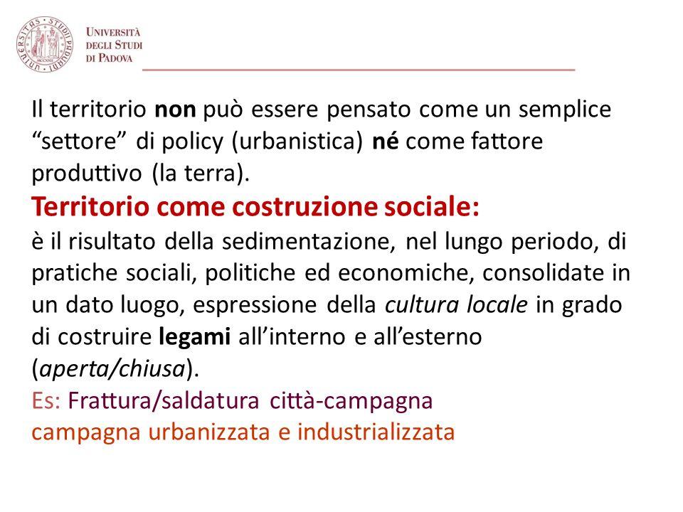 Le IPA come strumento di governance dello sviluppo territoriale del Veneto (2): Governance multilivello regionale: lIPA è uno strumento di programmazione decentrata allo sviluppo, previsto dalla L.r.