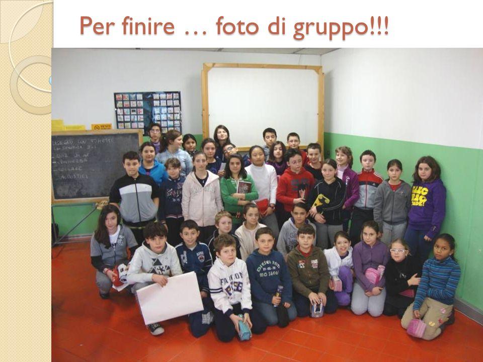 Per finire … foto di gruppo!!!