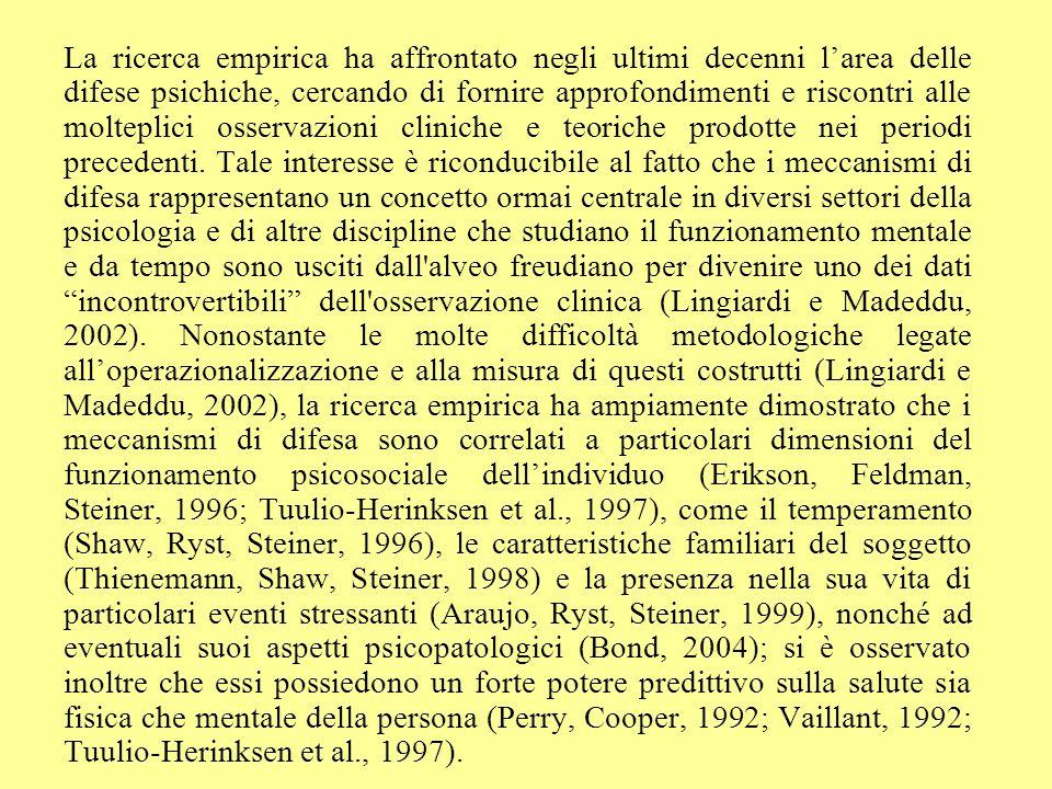 Graf. 11 - Punteggi medi REM-71: difese mature confronto tra maschi e femmine Liceo Tosi