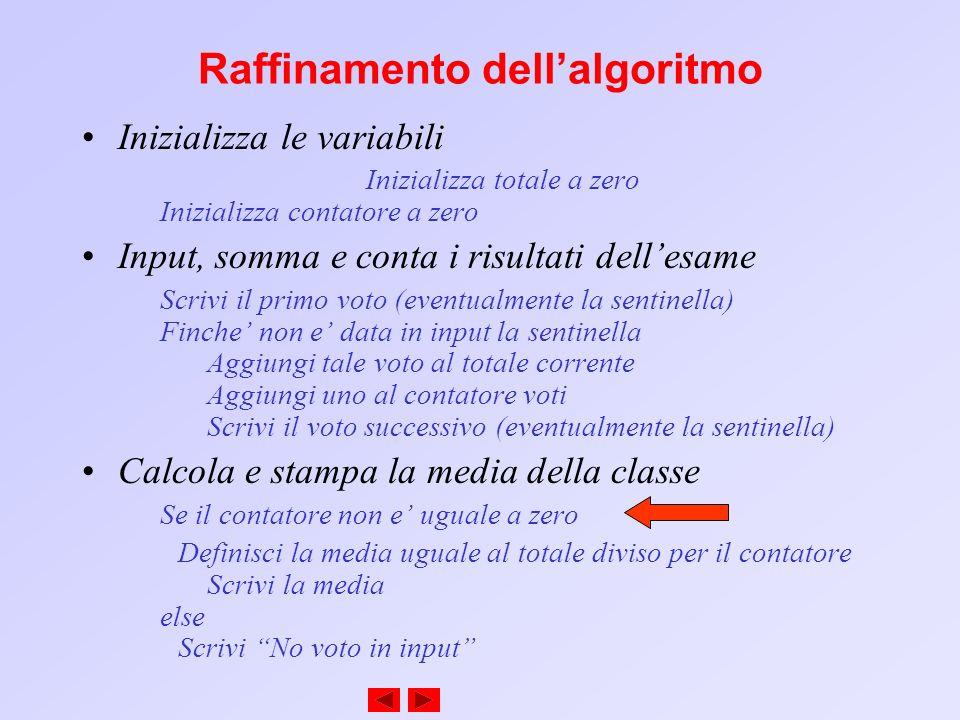 . Sommario Output Enter Result (1=pass,2=fail): 1 Enter Result (1=pass,2=fail): 2 Enter Result (1=pass,2=fail): 1 Enter Result (1=pass,2=fail): 2 Enter Result (1=pass,2=fail): 1 Enter Result (1=pass,2=fail): 2 Passed 6 Failed 4