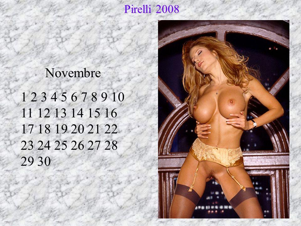 Novembre 1 2 3 4 5 6 7 8 9 10 11 12 13 14 15 16 17 18 19 20 21 22 23 24 25 26 27 28 29 30 Pirelli 2008 Pirelli 2008