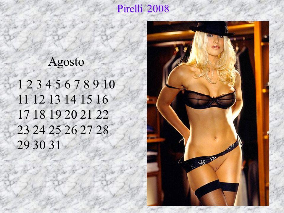 Settembre 1 2 3 4 5 6 7 8 9 10 11 12 13 14 15 16 17 18 19 20 21 22 23 24 25 26 27 28 29 30 Pirelli 2008 Pirelli 2008