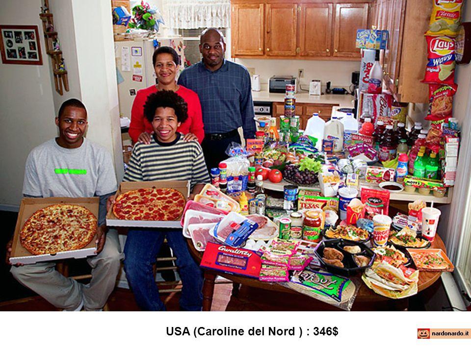 USA (Caroline del Nord ) : 346$