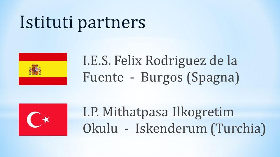 Istituti partners I.P. Mithatpasa Ilkogretim Okulu - Iskenderum (Turchia) I.E.S.