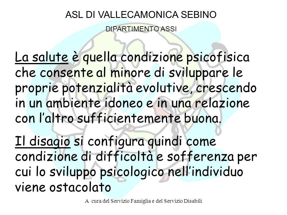 CAMPAGNE DI PREVENZIONE PRIMARIA ANNO 2002/2003 ASL DI VALLECAMONICA SEBINO DIPARTIMENTO ASSI