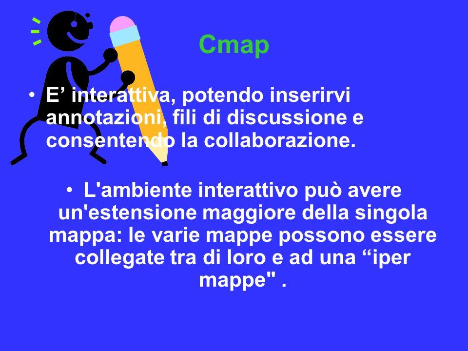 E interattiva, potendo inserirvi annotazioni, fili di discussione e consentendo la collaborazione. L'ambiente interattivo può avere un'estensione magg