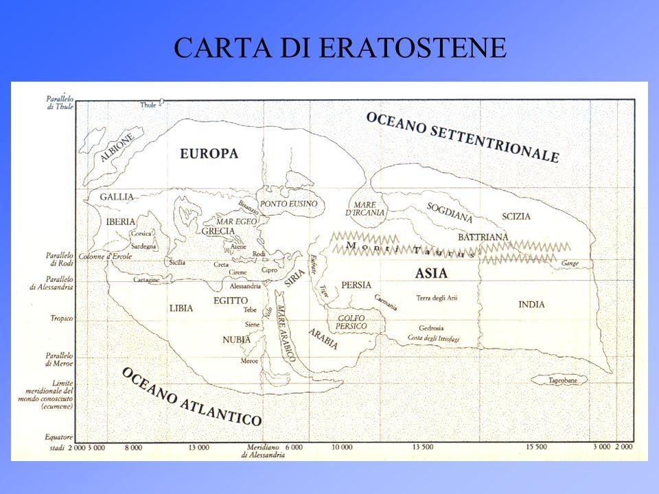 CARTA DI ERATOSTENE