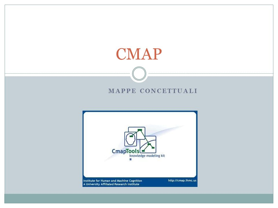 MAPPE CONCETTUALI CMAP