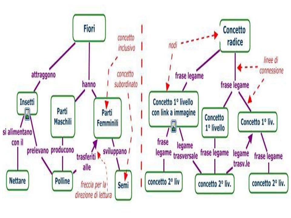 Caratteristiche Le frecce si aggiungono solo nei casi in cui una proposizione deve essere letta in direzione orizzontale, leggermente obliqua o dal basso verso lalto (per evitare ambiguità).