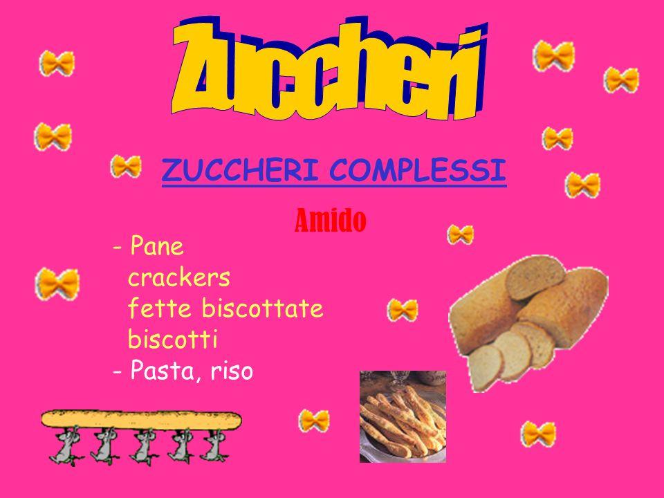 - Pane crackers fette biscottate biscotti - Pasta, riso Amido ZUCCHERI COMPLESSI