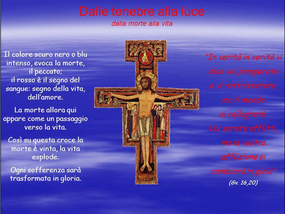 Cristo è lamore che da la vita Gesù è anche e contemporaneamente in un gesto di accoglienza di tutto il mondo, accoglie ogni uomo: Gesù è in un gesto di abbandono al Padre: dà la vita per amore.