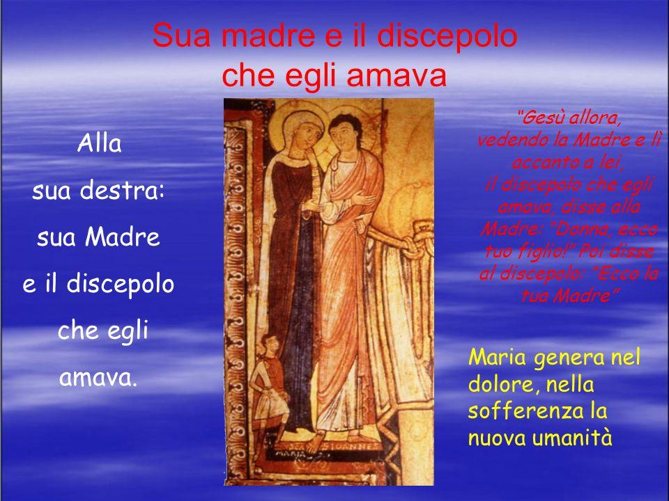 La mano del Padre Più in alto sulla Croce La mano del Padre, occupa lo spazio più alto della Croce, è inserita in un semicerchio; non si vede la parte