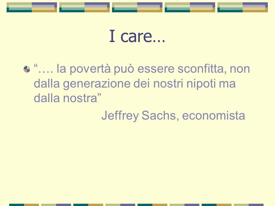 I care… ….