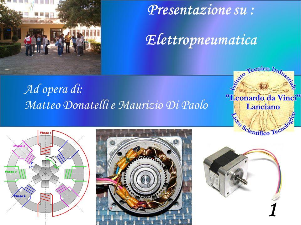 Ad opera di: Matteo Donatelli e Maurizio Di Paolo Presentazione su : Elettropneumatica 1