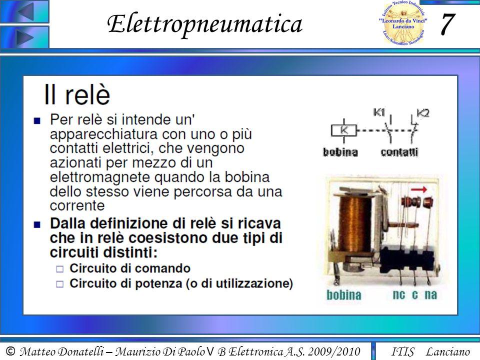 © Matteo Donatelli – Maurizio Di Paolo V B Elettronica A.S.