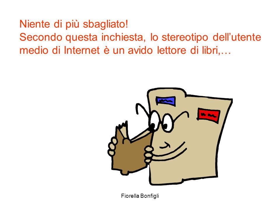 Fiorella Bonfigli Niente di più sbagliato! Secondo questa inchiesta, lo stereotipo dellutente medio di Internet è un avido lettore di libri,…