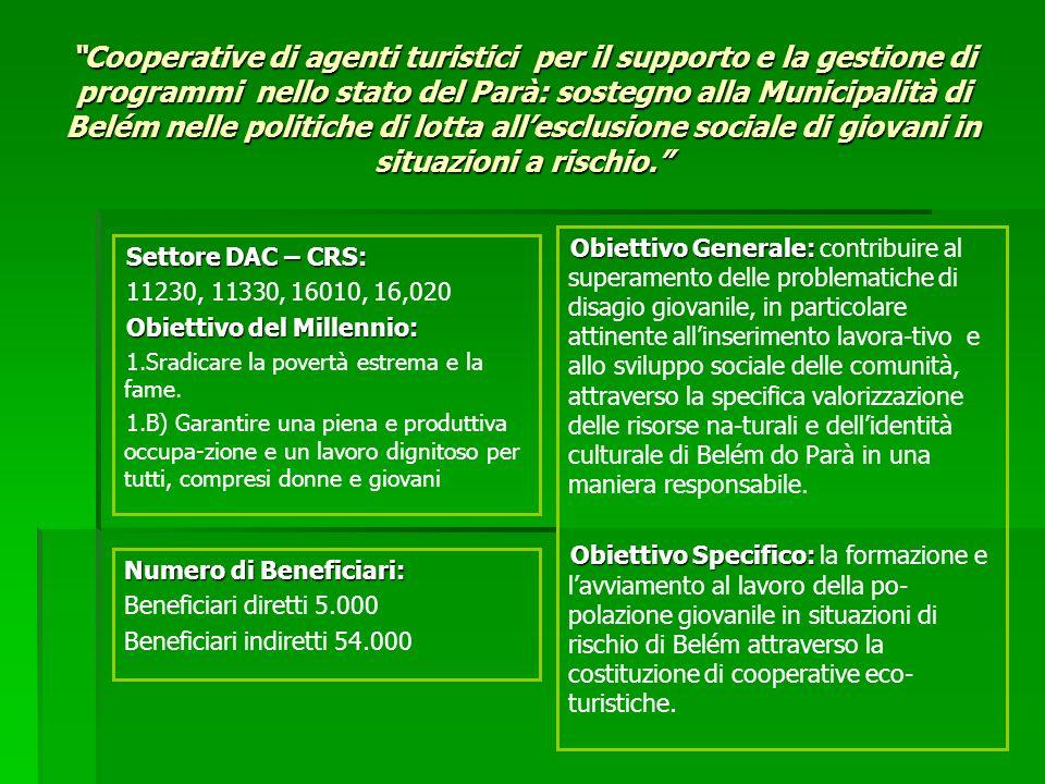 Obiettivo Generale: Obiettivo Generale: contribuire al superamento delle problematiche di disagio giovanile, in particolare attinente allinserimento l