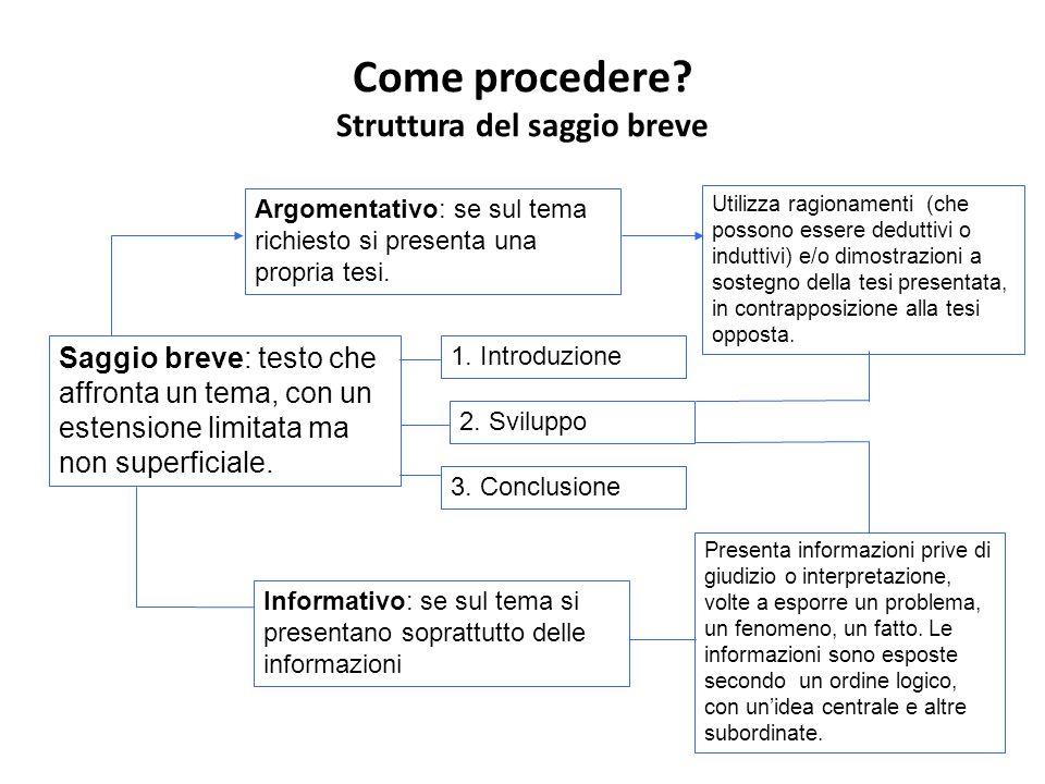 Lesposizione delle informazioni (eventi, idee, dati ecc.) deve essere organizzata secondo un ordine logico, prestando particolare attenzione alla conseguenzialità dei pensieri.