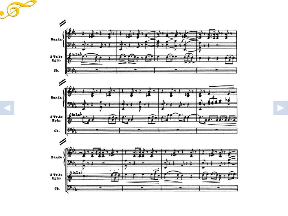 Aida, Marcia trionfale, esempi di partitura orchestrale